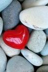 BCALM-Mindfulness -meditation-heart stone